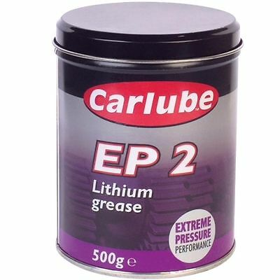 EP2 Lithium Extreme Pressure Grease 500g Tin [XGE500] High Melting Point