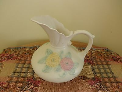"""Hull Pottery """"Open Rose/Camelia"""" Ewer"""