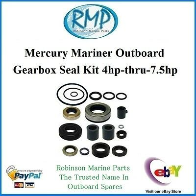 A Brand New Mercury Mariner Outboard Gearbox Seal Kit  4hp-7.5hp # 26-77066A1
