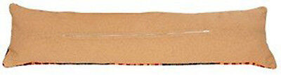 cushion back with zipper Draught Excluder finishing Kit by Vervaco 32x8 inches