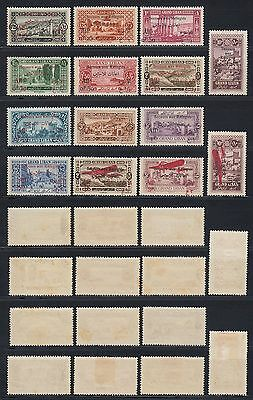 Liban Lebanon 1926 * ex Mi.79/94 Freimarken Definitives with ovpt. [sr260]