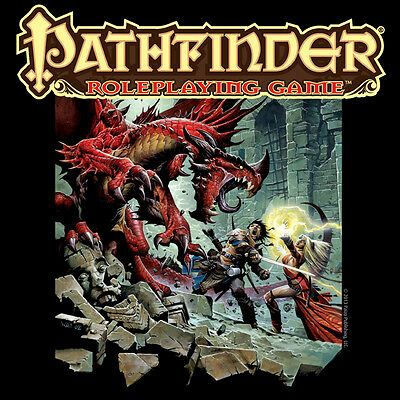 New T-Shirt Pathfinder Core Roleplaying Game RPGs Paizo OffWorld Designs
