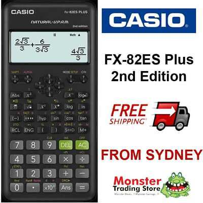 Casio Scientific Calculator Fx-82Es Plus Fx82  Fx-82 Fx82Esplus Aussie Seller