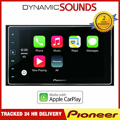 Pioneer SPH-DA120 CarPlay AppRadio Touch Screen GPS Bluetooth iPhone Android