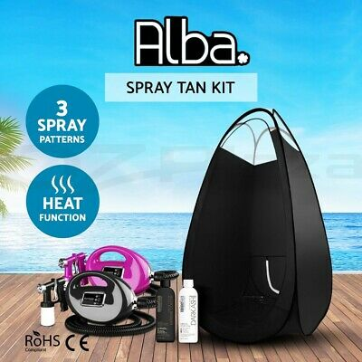 Spray Tan Machine Sunless Tanning Spray Tan Tent Solution Kit HVLP System