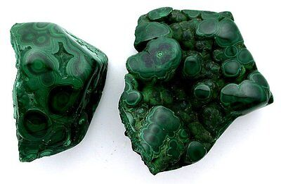 176 Grams Polished NATURAL African Malachite Cab Cabochon Rough Gemtone ebs6778