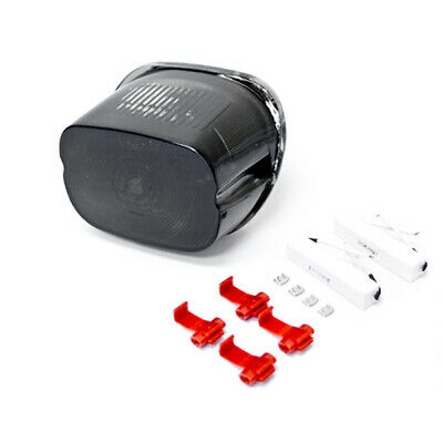 LED Smoke ALL-IN-ONE Brake Tail Light Turn Signals For 1996-2008 Harley Davidson