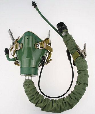 SURPLUS CHINESE AIRFORCE MILITARY AVIATION OXYGEN MASK-33362