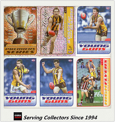 Collectable--2006 ESP AFL Sticker Base Team Set Hawthorn (12)