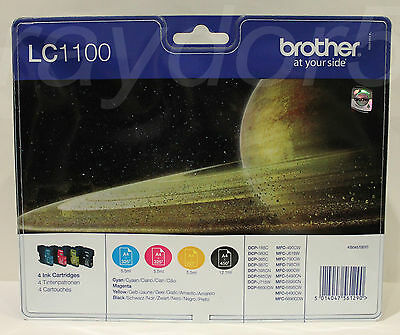 Brother LC1100 Multipack original DCP MFC Series Cartucho tinta 2015