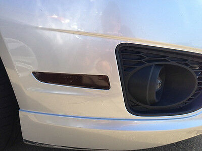 2010-2012 Ford Fusion Smoke Sidemarker Signal Precut Tint Cover Smoked Overlays