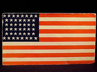 Patriot American Flag Cover - 44 Stars - Wyo. Territory