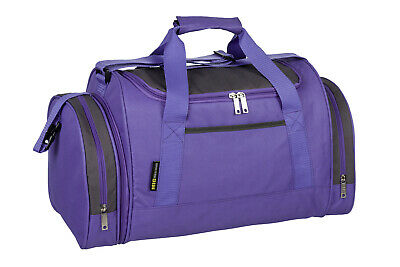 Ladies & Girls Purple Sports & Gym Holdall Bag SPORTS TRAVEL WORK SCHOOL MIG SB7