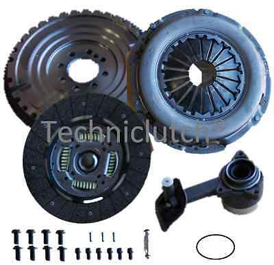 Ford Mondeo 2.0 Diesel New Solid Clutch And Flywheel Kit With Csc And Bolts