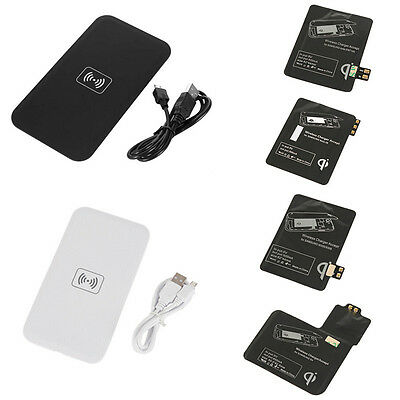 Qi Wireless Charger for Samsung Galaxy S3 S4 S5 NOTE 2 3 Charging Pad Receiver