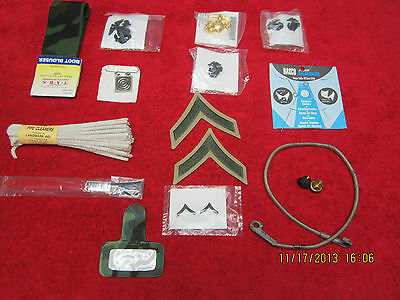 US Marine Corps Recruit Issue 15 Item Accessory Pack