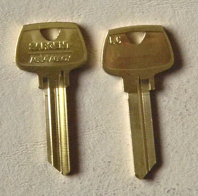 Pair Of Sargent LC Key Blanks- 6 pin