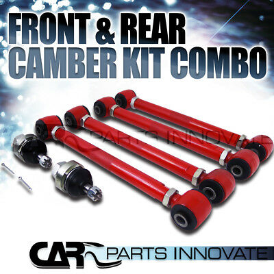 For 03-07 Accord 04-08 TL TSX 03-04 Rl Front Ball Joint+Rear Control Camber Arm
