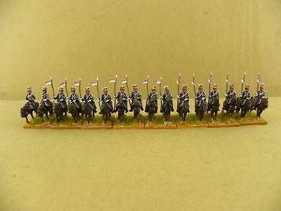 15mm Napoleonic painted French Gd Lancer Fre006