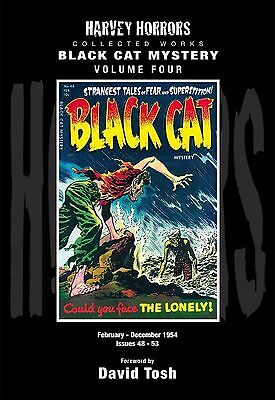Harvey Horrors Collected Black Cat Mystery Volume Four (NM) `14