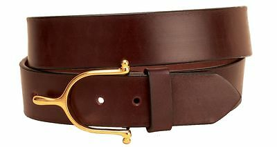 Tory Equestrian WIDE Spur Belt - Black & Brown - Different Sizes