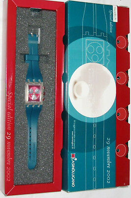Special Swatch 2002 Red Round (Casino Lugano)