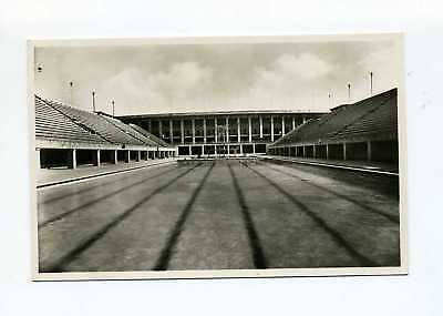 1936 Germany Official postcard Olympic Games #4 swimming stadium
