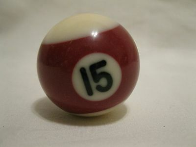 "Miniature Mini 1-1/2"" Pool Billiards #15 Replacement Ball Only"