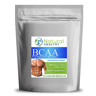 Bcaa Branched Chain Amino Acids - Muscle Growth Support - Lean And Strong Muscle