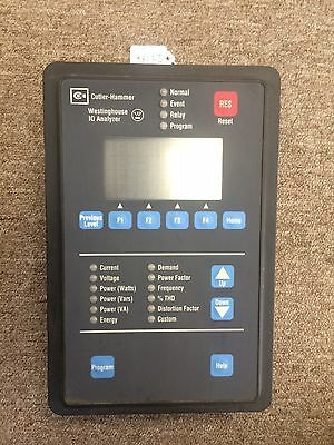 Cutler Hammer Westinghouse Iq Analyzer Data Line Meter Iqa6000