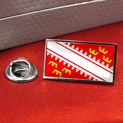 Alsace Flag Lapel Pin Badge/Tie pin