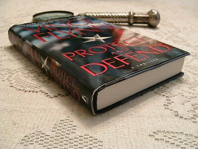Vince Flynn *PROTECT AND DEFEND* Hardcover First Edition