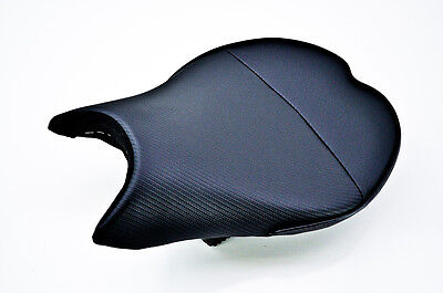 09-14 Ducati Steetfighter Sargent World Sport Black Accent Front Seat WS-616F-19