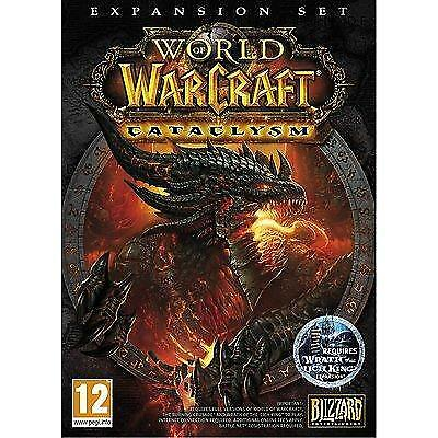 World of Warcraft Cataclysm expansion pack PC New Sealed