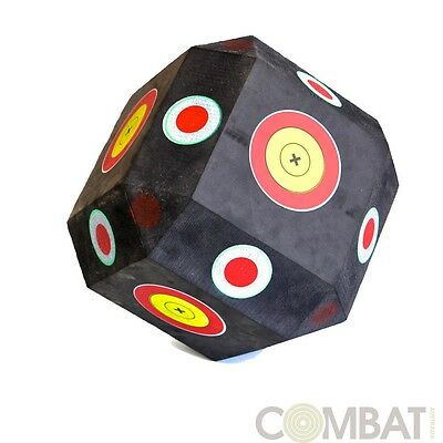 3D Cube Polyhedron Target High Density Self Healing Foam Archery Target Hunting