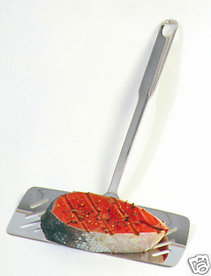Norpro 1099 Stainless Steel Fish Turner Slotted Spatula