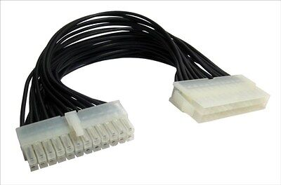 ATX Extension Cable 24 Pin Male to 24 Pin Female Internal PC PSU Power