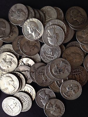 SUPER 1 LB BAG 16 OZ Mixed U.S. Silver Coins ALL 90% Junk Silver Coins Pre 1965