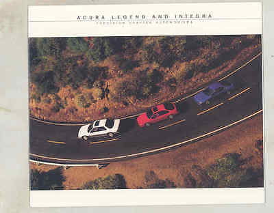 1987 Acura Integra & Legend Brochure mx9603