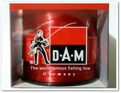 6Lb  2100M DAM CROSSPOWER Red Spec Monofilament Line