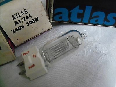 Projector bulb lamp A1/244 240V 500W 6872P GY9.5  .....  12           fx