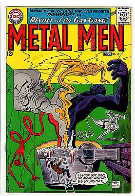 Metal Men #10 6.5 White To Off-White Pages Silver Age