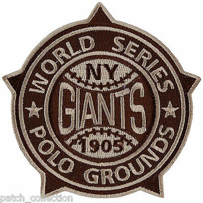 1905 NEW YORK GIANTS FIRST 1ST MLB WORLD SERIES JERSEY SLEEVE PATCH CHAMPIONS