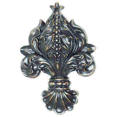 Hickory Manor Fleur-De-Lis/Blackberry - 6943BY