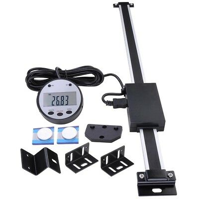 "12"" Digital DRO Table Readout Scale Vertical Remote LCD Tool For Milling Lathes"