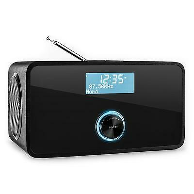 RADIO AUNA DABStep DAB+ AM/FM DIGITALE BLUETOOTH NERA AUX RDS WIRELESS TABLET