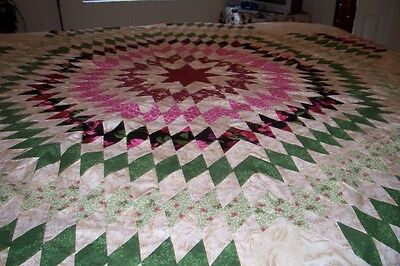 Texas Star/ Or Lone Star Quilt Top~~Made In America~~~
