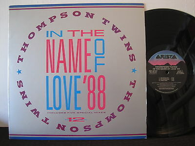 SYNTH POP/ Thompson Twins - In The Name Of Love '88