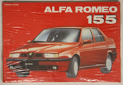 Libretto Nuovo Alfa Romeo 155  La Collection Automobilia 1992 Italiano #l534