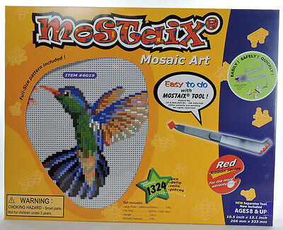 Mostaix mosaic tile puzzle art Easy To Do Hummingbird